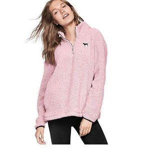 Victoria's Secret PINK Sherpa Jacket Sz L
